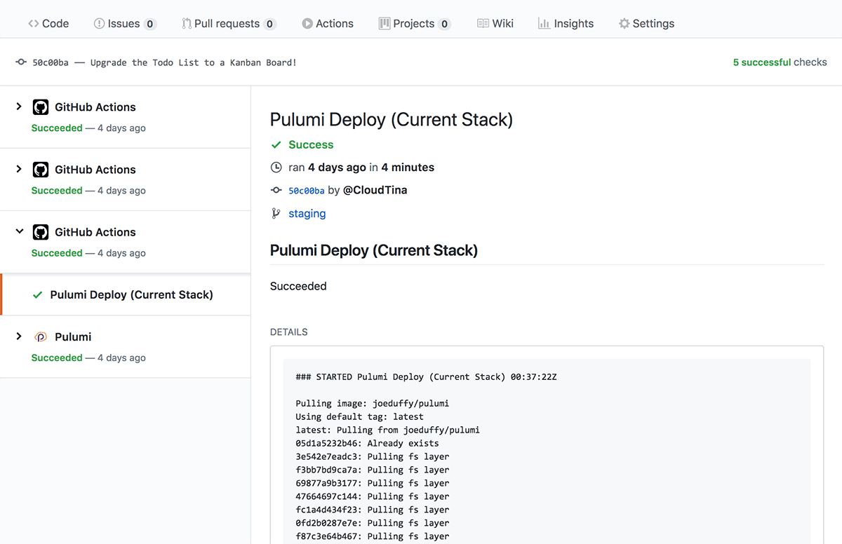 Continuous Delivery to Any Cloud using GitHub Actions and Pulumi