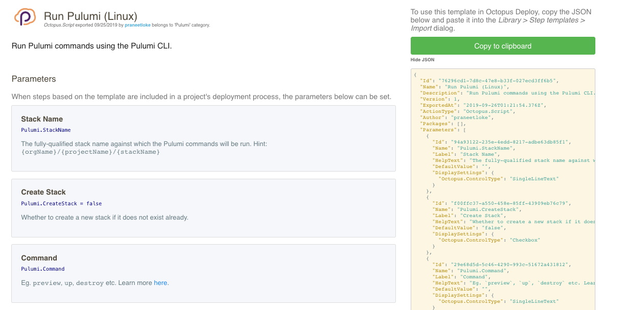Continuous Delivery on Octopus Deploy using Pulumi | Pulumi
