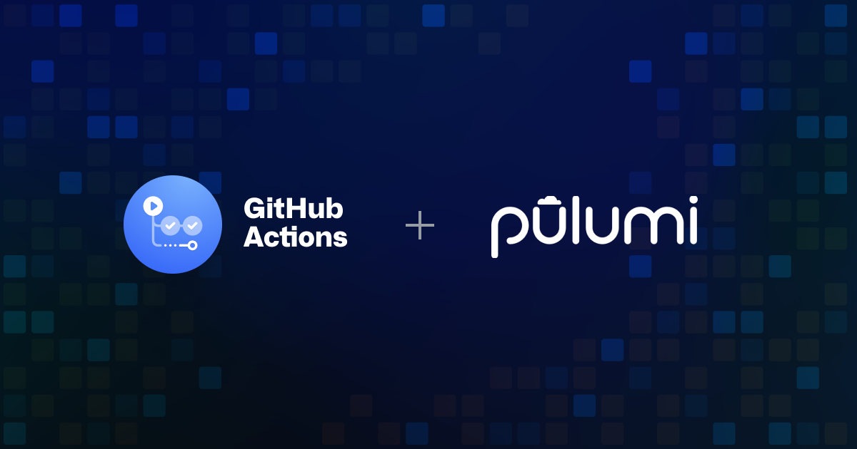 Infrastructure CI/CD With Github Actions and Pulumi