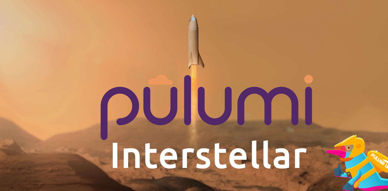 Pulumi Interstellar