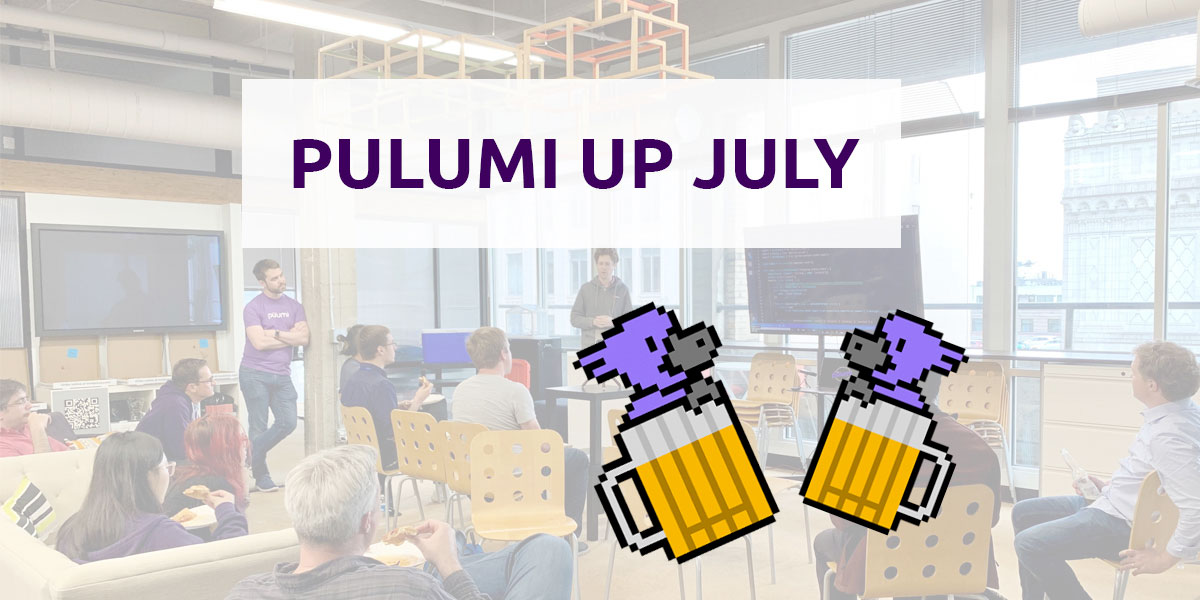 Pulumi Meetup Recap: APIs, Custom Resources and GitHub Webhooks
