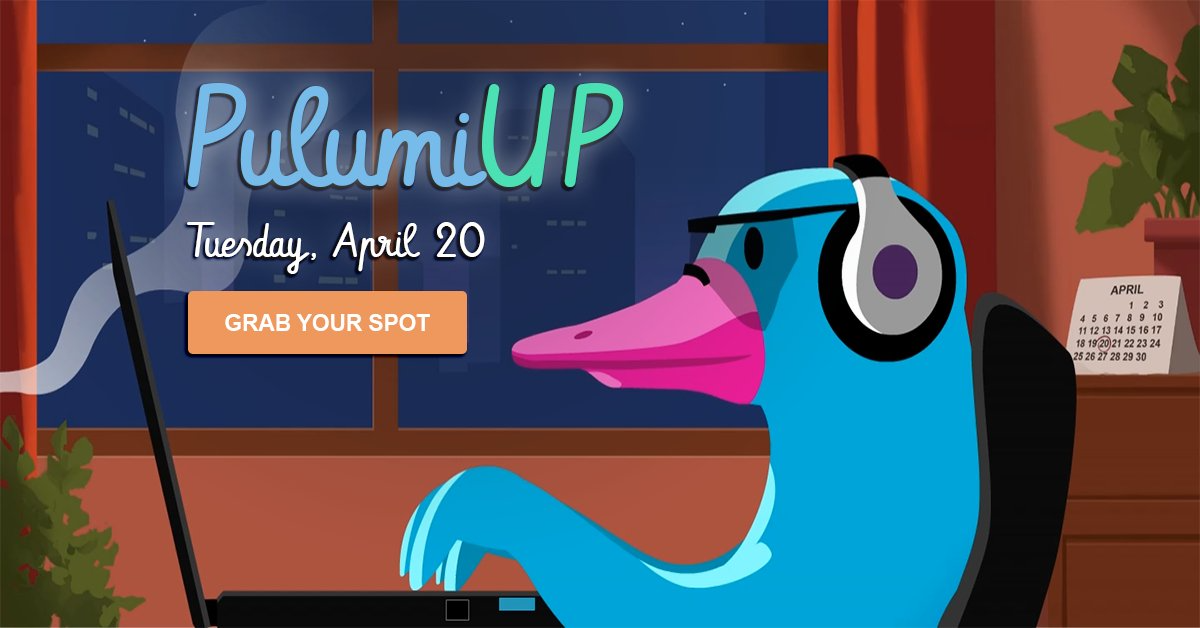 PulumiUP: the Event for Cloud Engineers