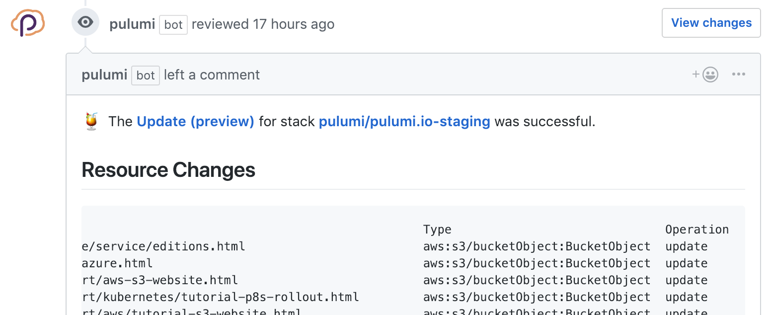 Comment on Pull Request